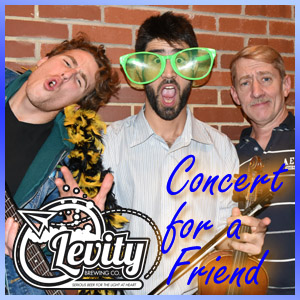 Levity Brewing's Concert for our Friend Nashwan